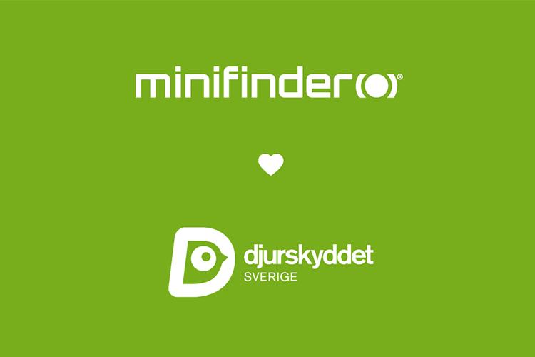 MiniFinder unterstützt Swedish Animal Welfare (Djurskyddet Sverige)!